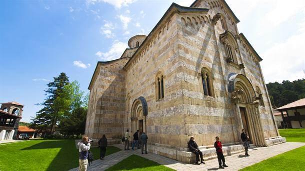 Dečani, visoki dečani, manastir, kosovo