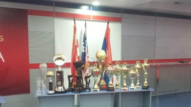 kk crvena zvezda trofeji