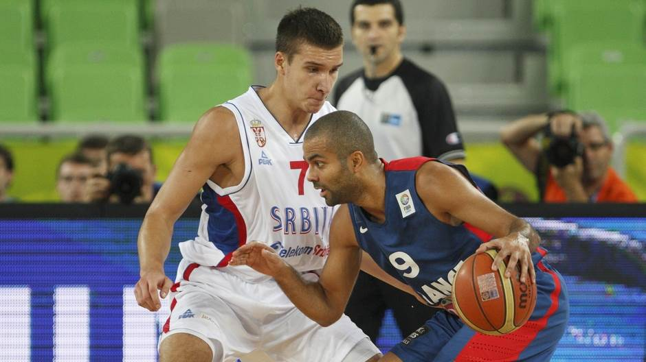 Bogdan Bogdanovic Toni Parker Serbia France