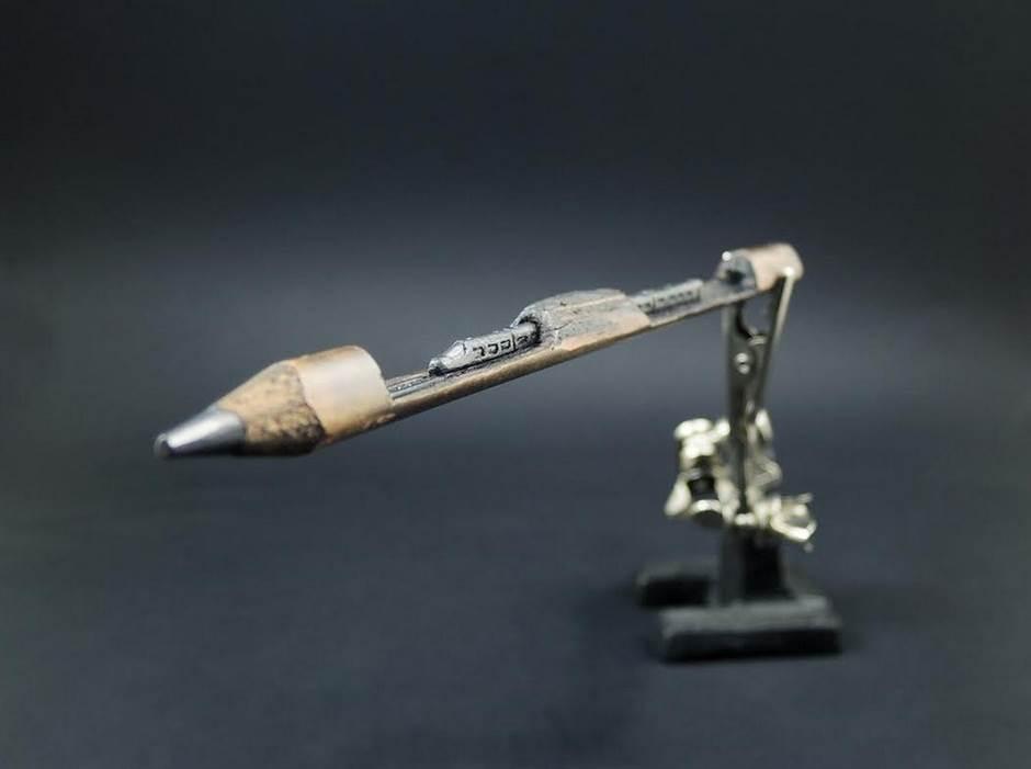 Vrhom olovke oborio svet s nogu!