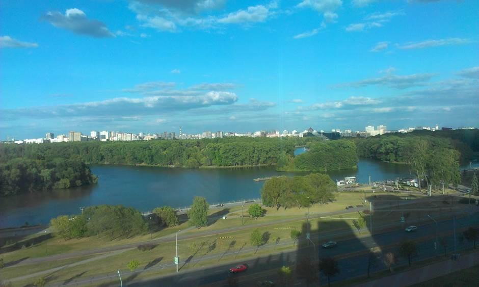 Pogled na Minsk