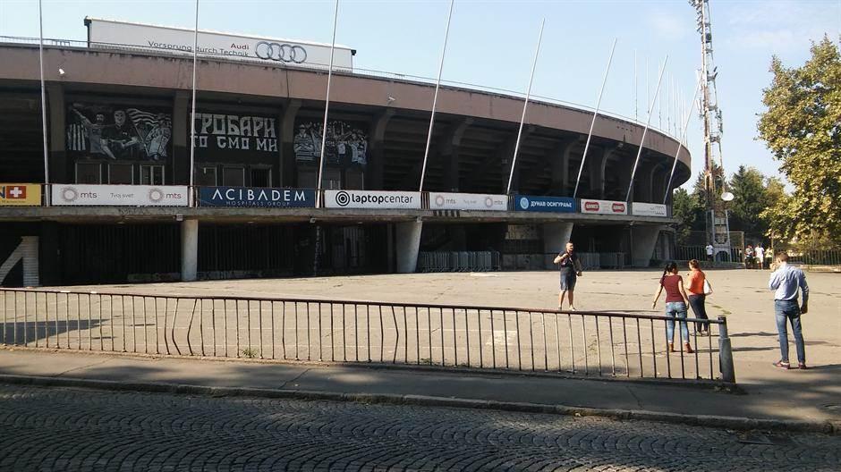 humska partizan stadion