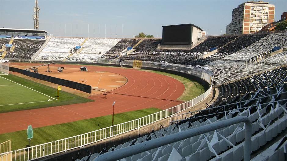 humska partizan stadion tribine semafor jug