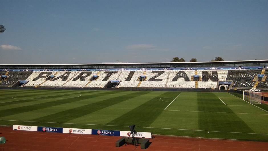 humska partizan stadion tribine