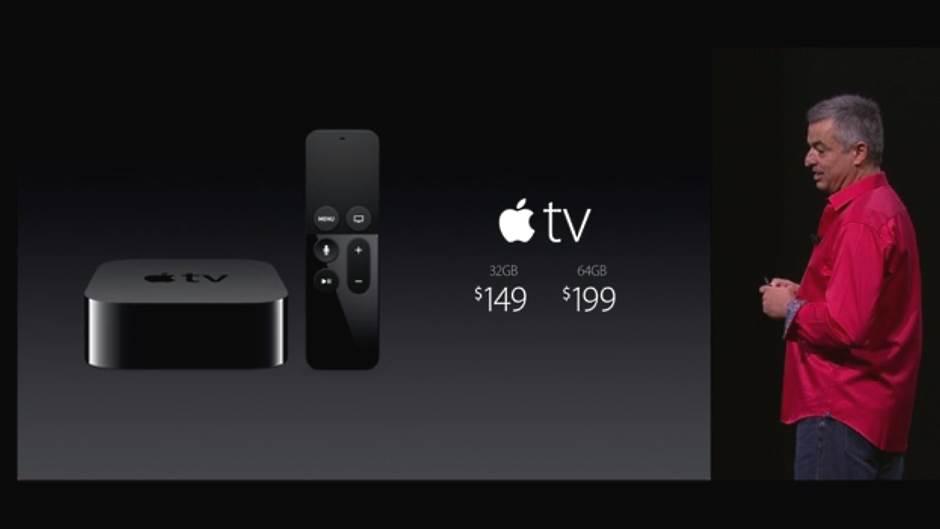 Apple TV cene.