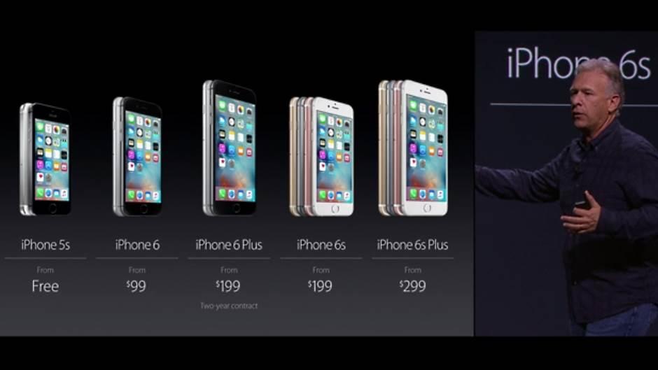 Apple iPhone 6 i iPhone 6S Plus cene.