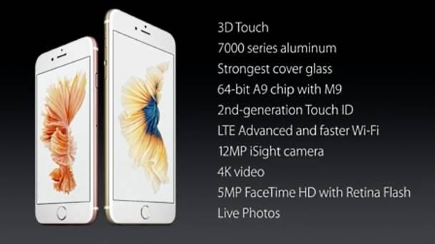 iPhone 6S i iPhone 6S Plus specifikacije.
