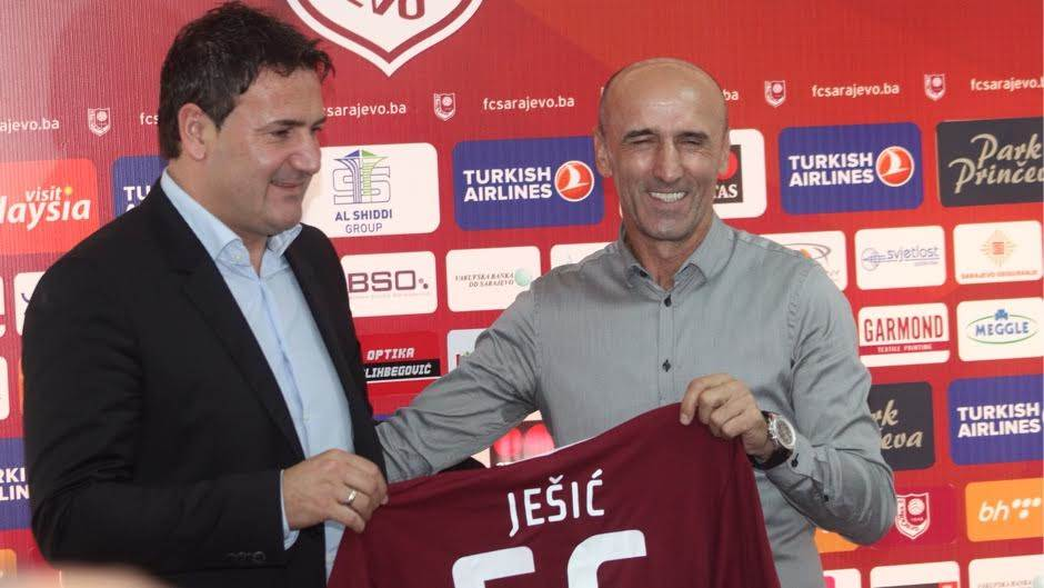 Ješić novi trener Sarajeva, obećao titulu