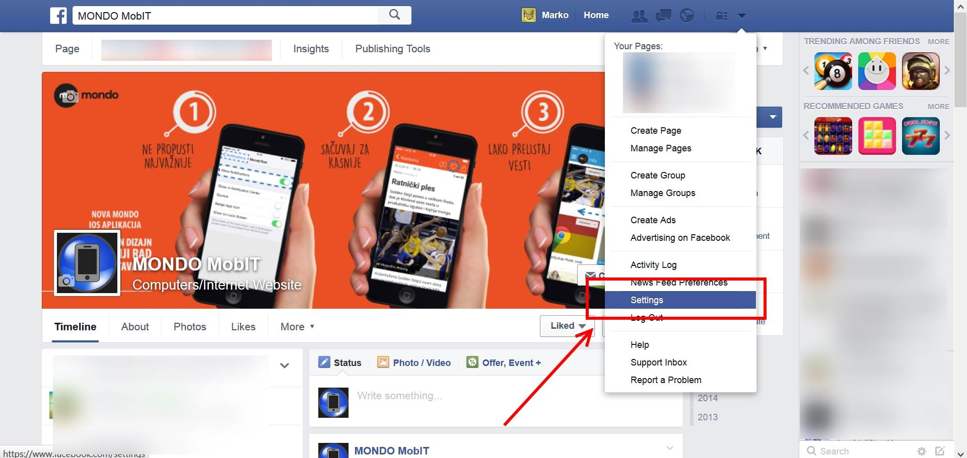 Kako isključiti automatsko puštanje videa na Fejsu