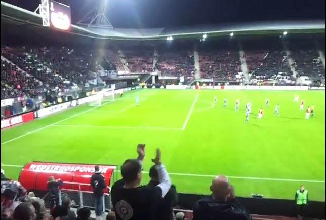 Partizan Alkmar navijaci.JPG