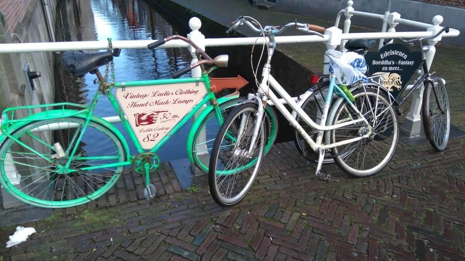 Holandija, Alkmar, bicikl