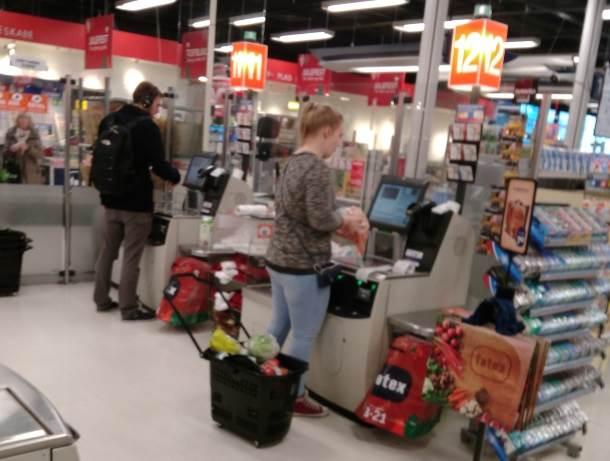 Ako imate kartice: Samousluga u Danskoj podrazumeva i samonaplaćivanje