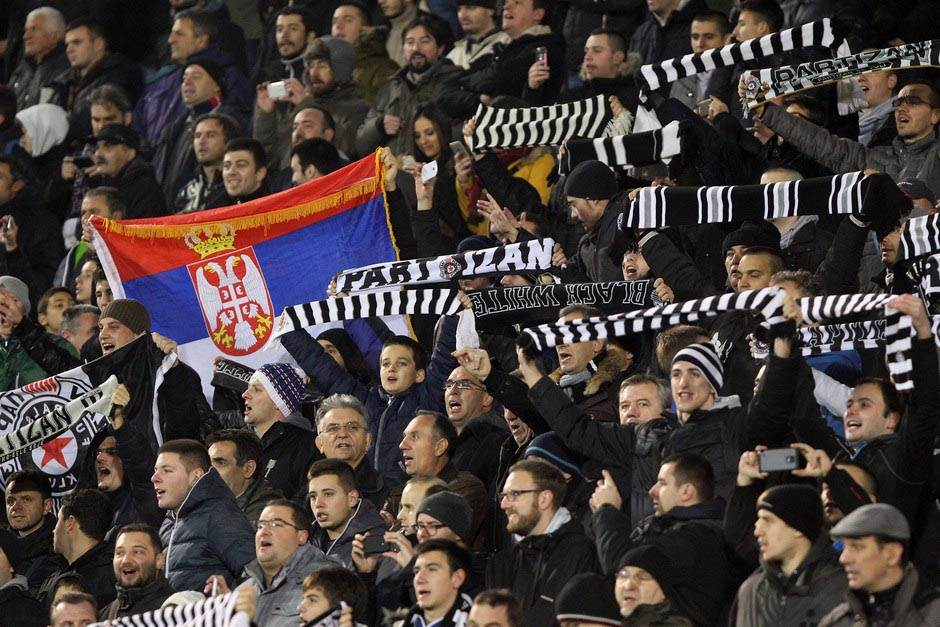 Partizan se zakopao u Humskoj!