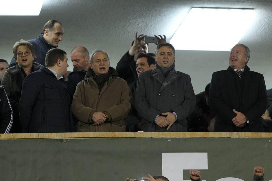 Partizan, uprava Partizana, Zoran Popović, Milorad Vučelić