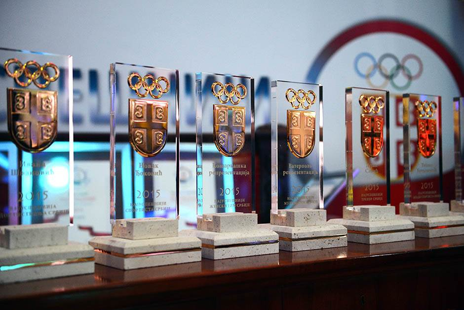 oks, olimpijski komitet srbije, njabolji sportisti srbije