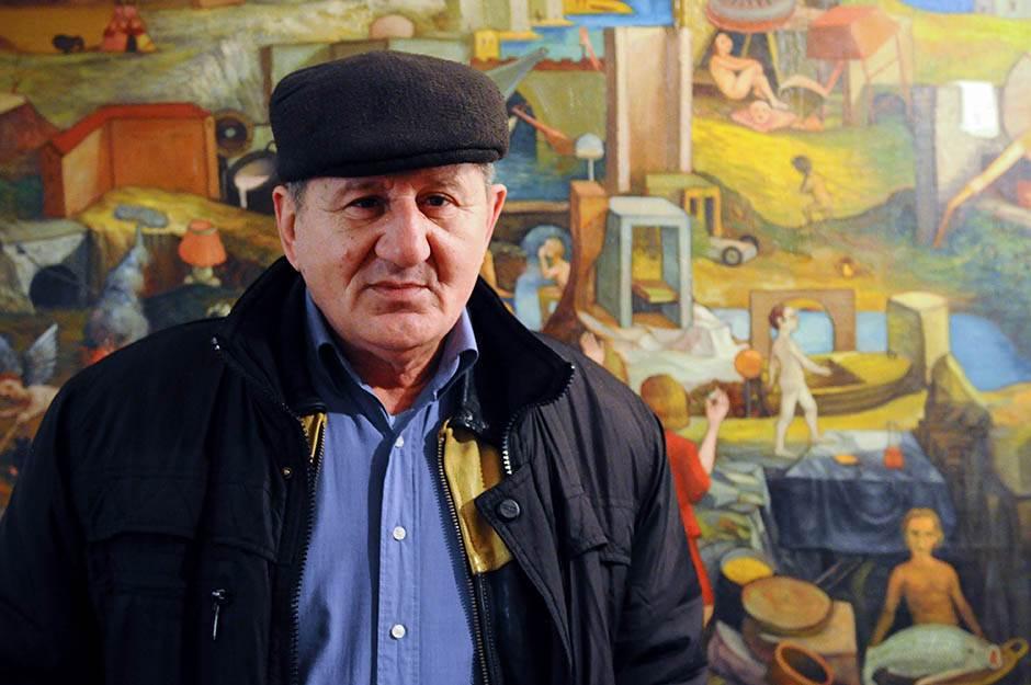 Sarma - slikar koji slika ljubav među ljudima