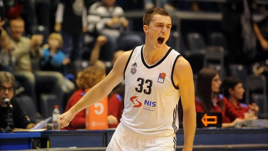 Danilo Anđušić Andjusic Partizan