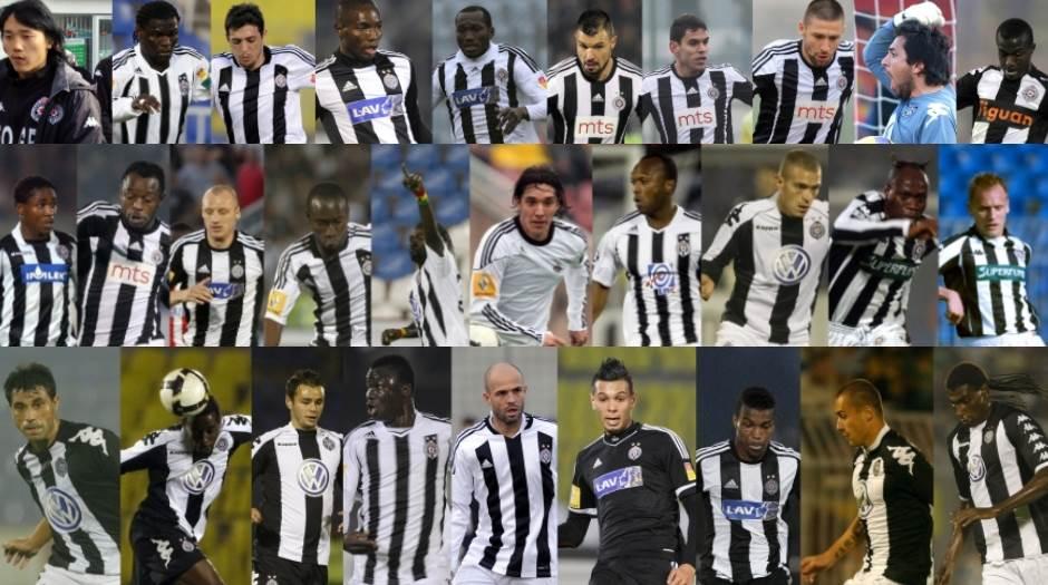 10 najboljih stranaca FK Partizan