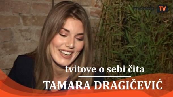 Tamara Dragičević, tviter, tvitovi, mondo tv