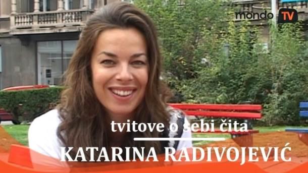 Katarina Radivojević, glumice, lepotice, tviter, mondo tv