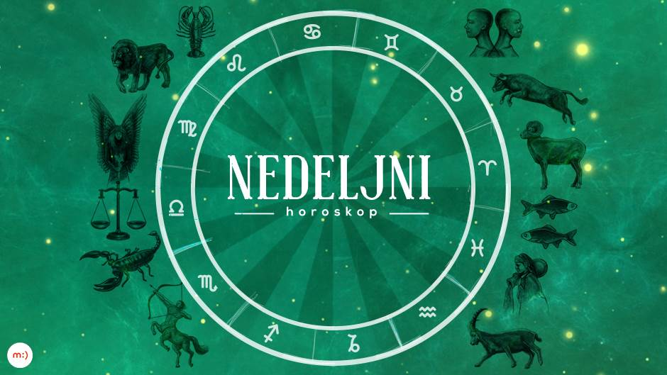 Nedeljni horoskop od 25. 1. do 31. 1.