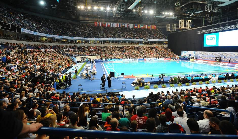 vaterpolo, arena, Beogradska arena, bazen