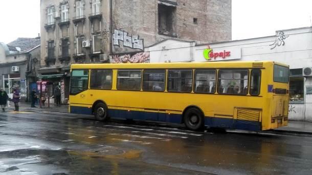 autobus pešački prelaz gsp zeleni venac