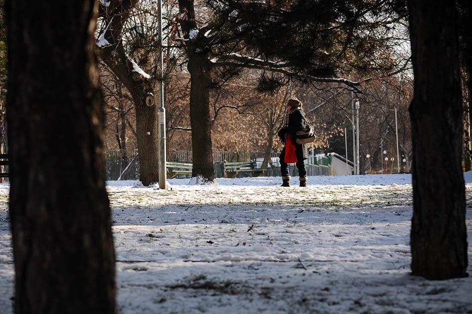 sneg, led, zima, beograd, ada ciganlija,