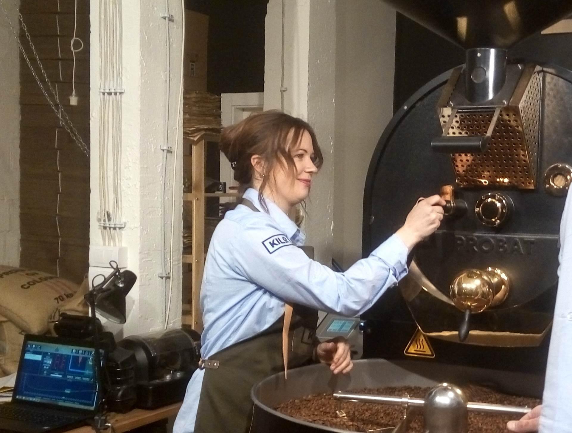 Žena koja pravi najbolju kafu na svetu!