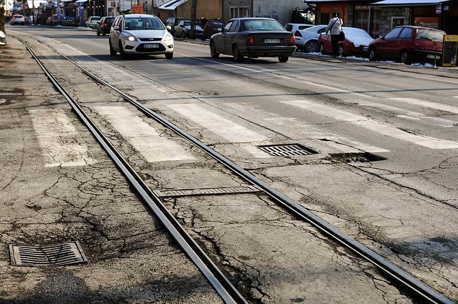 Tramvaj preko Mosta na Adi od juna 2019.
