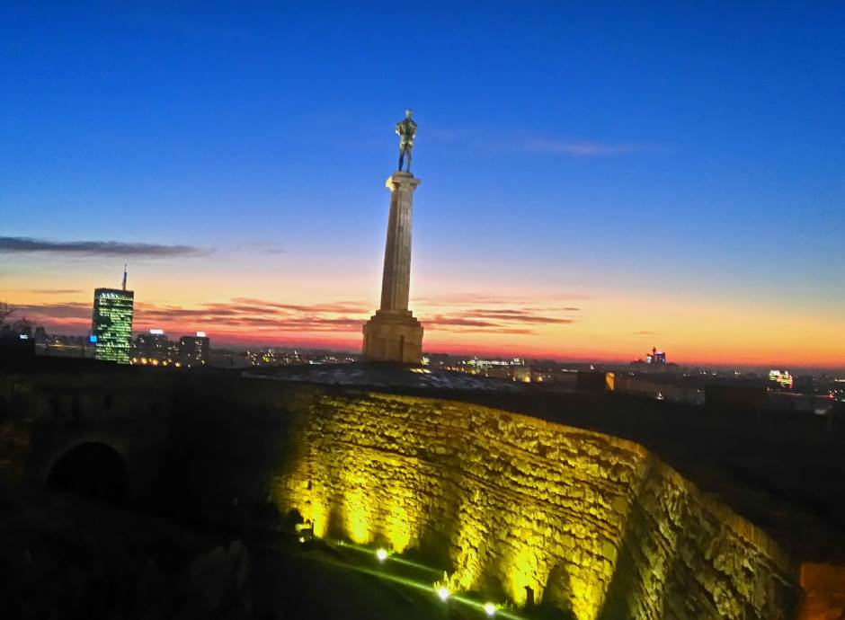 pobednik kalemegdan kališ beogradska tvrđava beograd