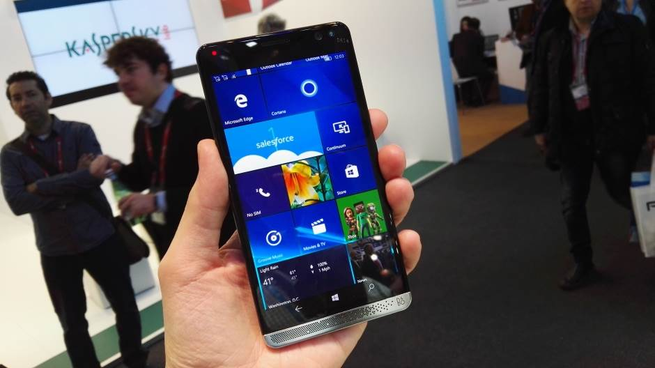HP, Elite X3, Windows 10 Mobile, Microsoft, Telefon, Telefoni
