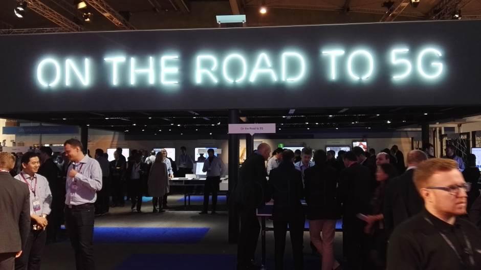 Ericsson 5G rešenja i prezentaciona zona.