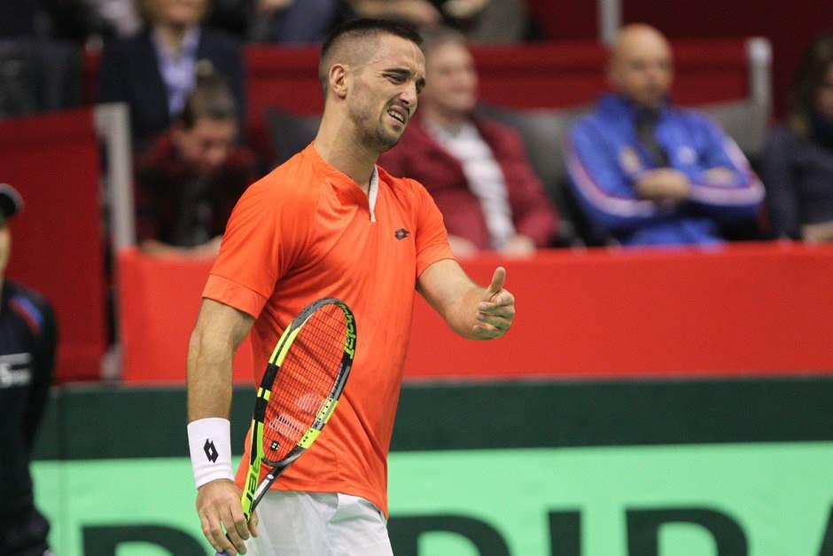 Viktor Troicki Dejvis kup Srbija Kazahstan