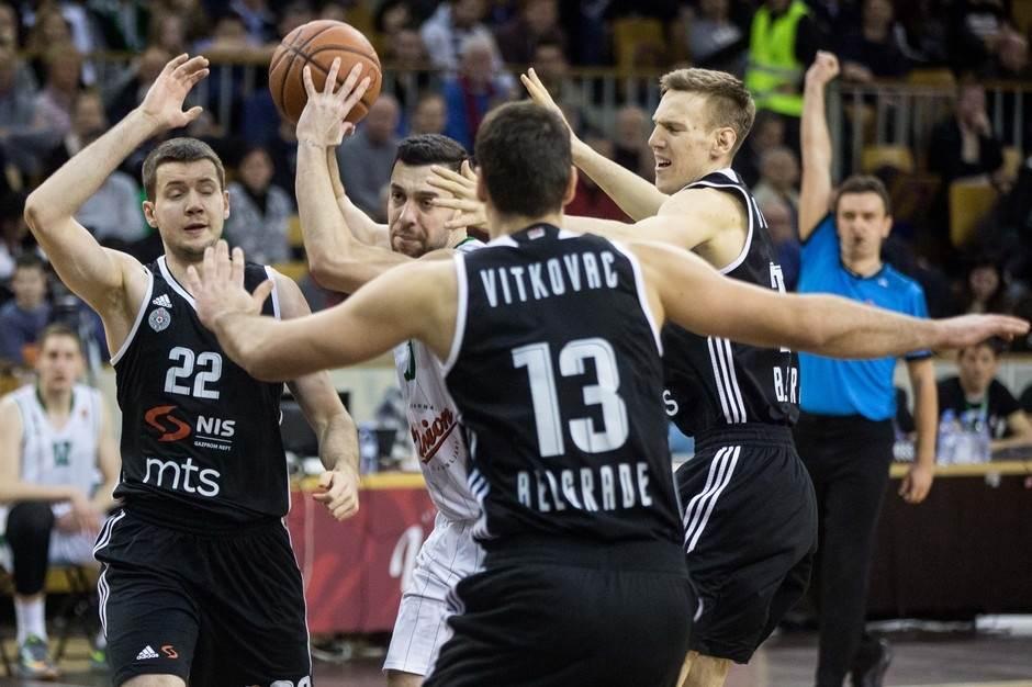 Olimpija, Partizan