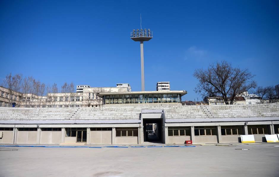 taš, stadion tašmajdan, obnova, radovi, rekonstrukcija,
