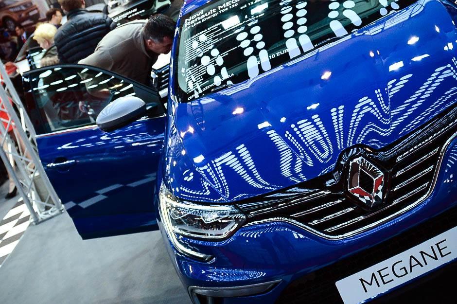 Renault Megane, sajam automobila, beogradski sajam, noviteti,
