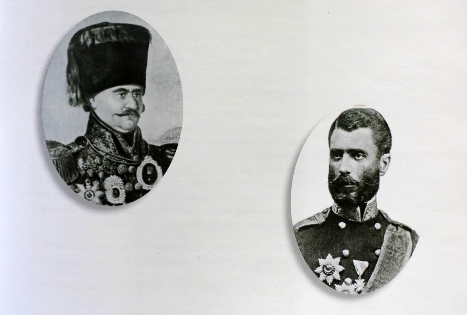 Miloš Obrenović i Mihailo Obrenović