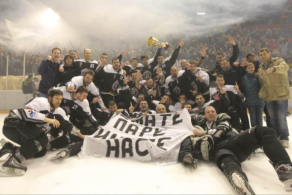 Partizan je šampion Srbije!
