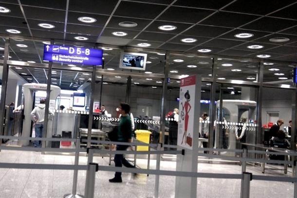frankfurtski aerodrom aerodromi frankfurt ček in kontrola carina