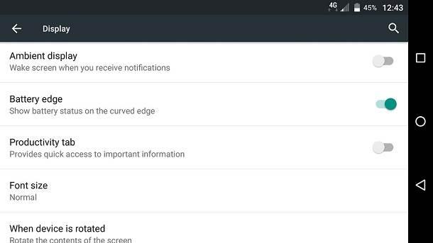 BlackBerry - Android dodatne opcije