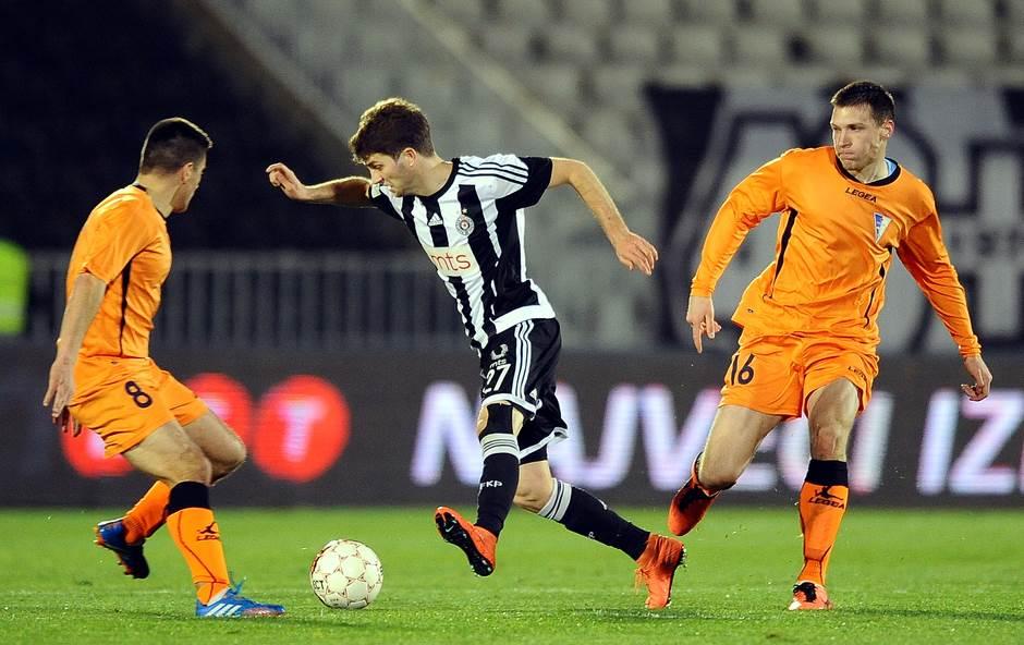 Nebojša Kosović, Partizan, Spartak