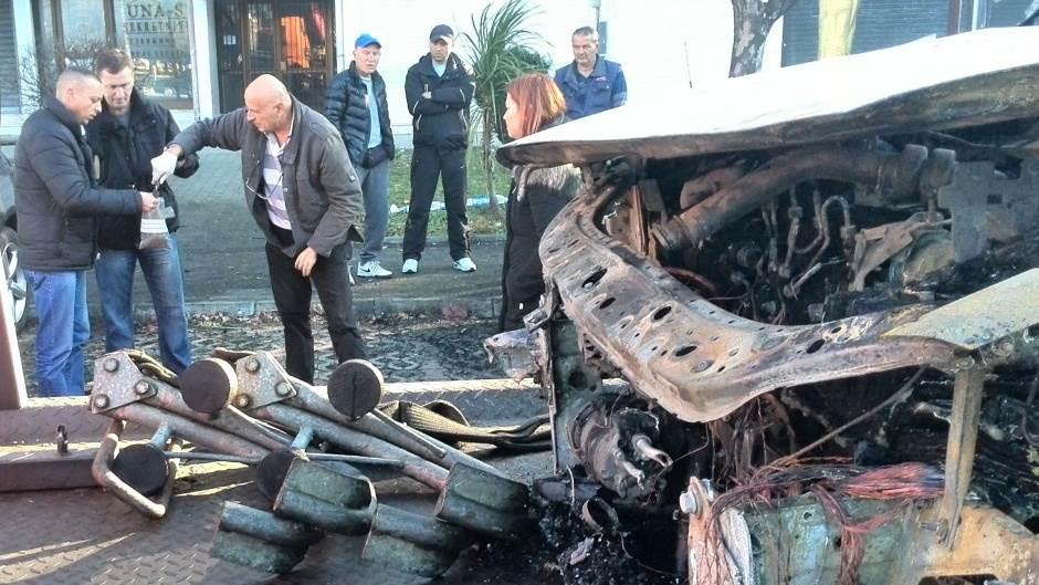zapaljen automobil bivšeg predsjednika DIK-a