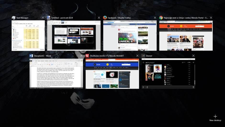 Vivaldi, pregledač, Task Manager, Pretraživač, Web Browser, Chrome, Firefox, Vivaldi