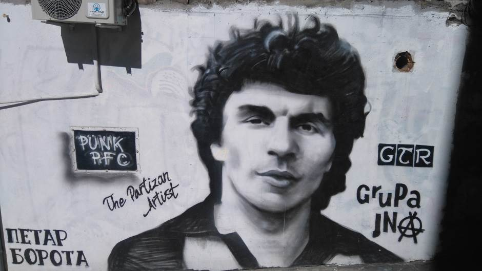 Petar Borota, Partizan