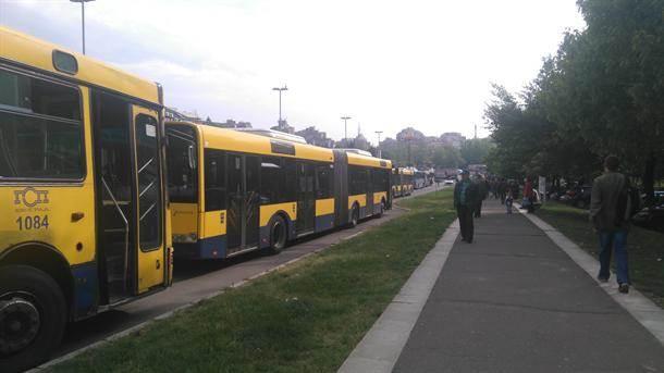 autobusi gužva autobus