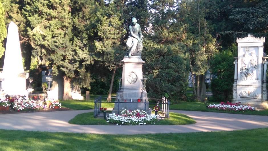kompozitori, Beč, Austrija, groblje, Mocart, Betoven