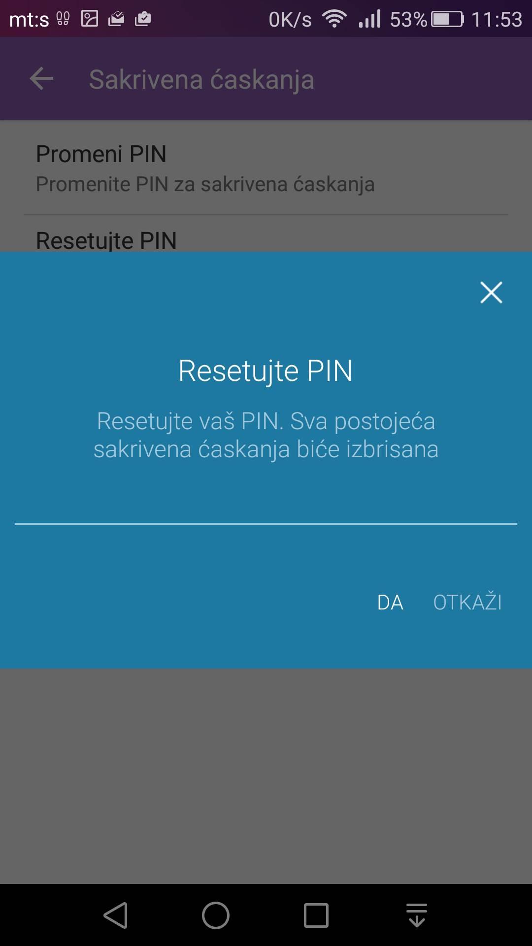 Viber: Kako sakriti poruke i staviti PIN zaštitu