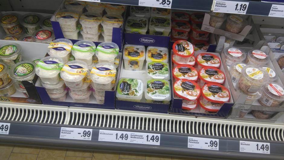 cene proizvodi salate market raf prodavnica potrošači