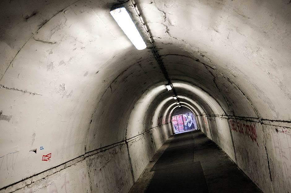 tunel, prolaz, marakana, stadion
